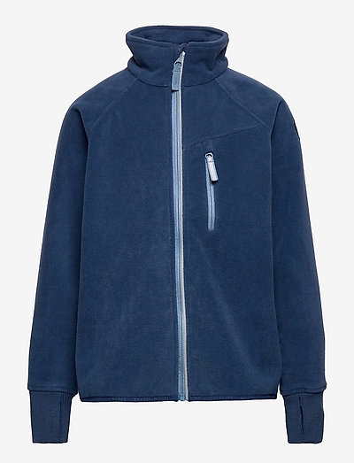 Jacket Windfleece Solid - fleecejacke - ensign blue