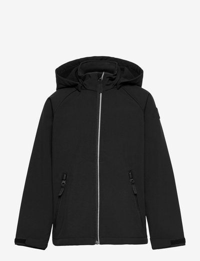 Jacket Softshell School - softshelljacke - black