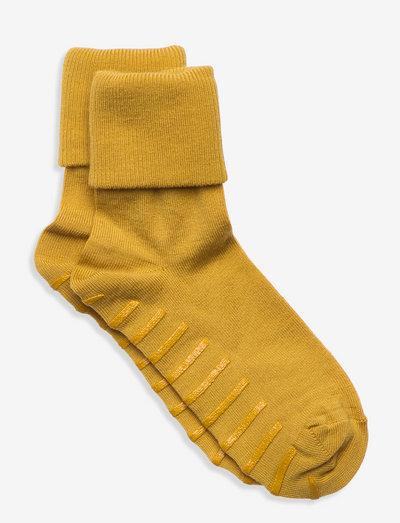 Sock Wool Preschool - anti-rutsch socken - tawny olive