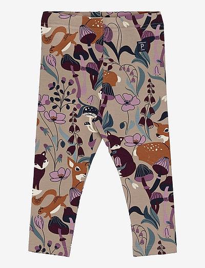 Leggings AOP Preschool - leggings - simply taupe