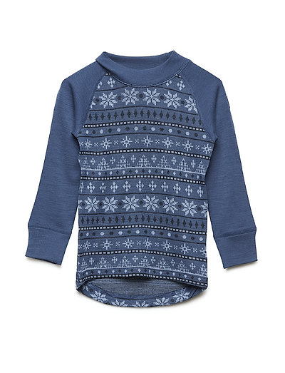 Top Wool Jaquard - ENSIGN BLUE