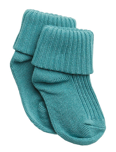 Sock Solid Newborn - BRISTOL BLUE