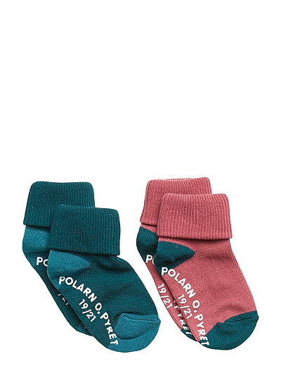 Sock 2-Pack Solid Baby - ATLANTIC DEEP