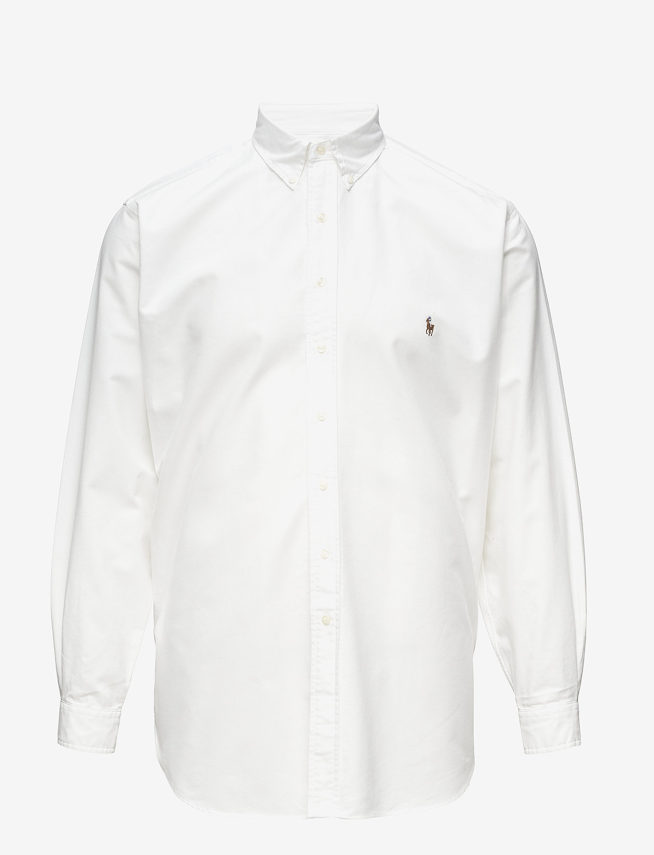 Polo Ralph Lauren Big & Tall - Classic Fit Cotton Sport Shirt - oxford skjorter - white - 0