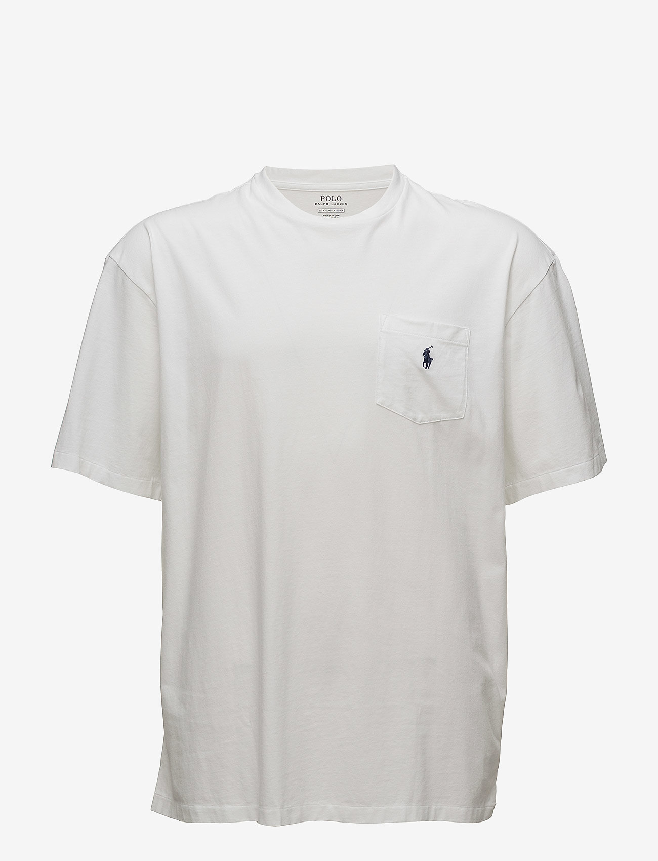 Polo Ralph Lauren Big & Tall - Classic Fit Pocket T-Shirt - kortärmade t-shirts - white - 0