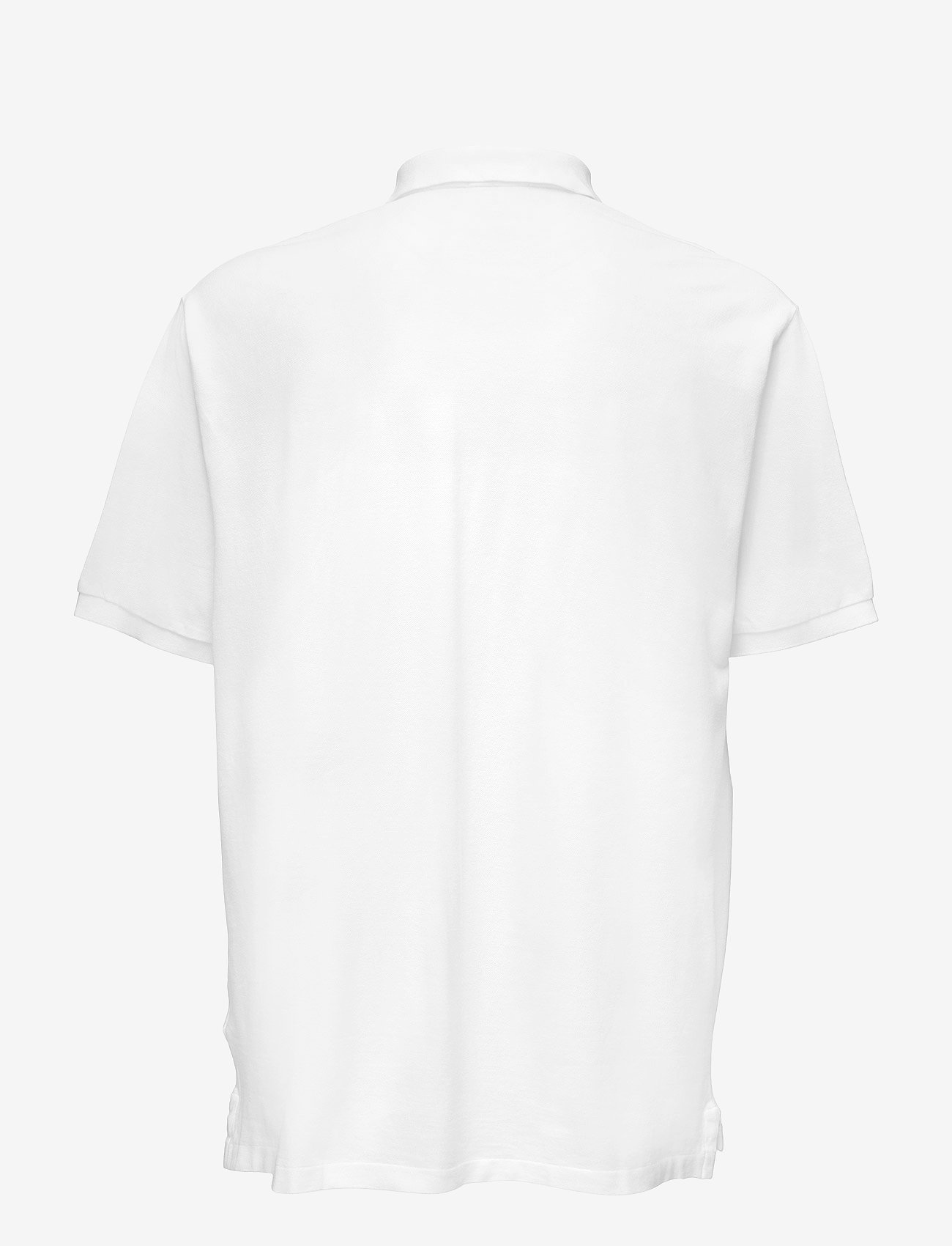 Polo Ralph Lauren Big & Tall - Classic Fit Mesh Polo Shirt - kortærmede - white - 1