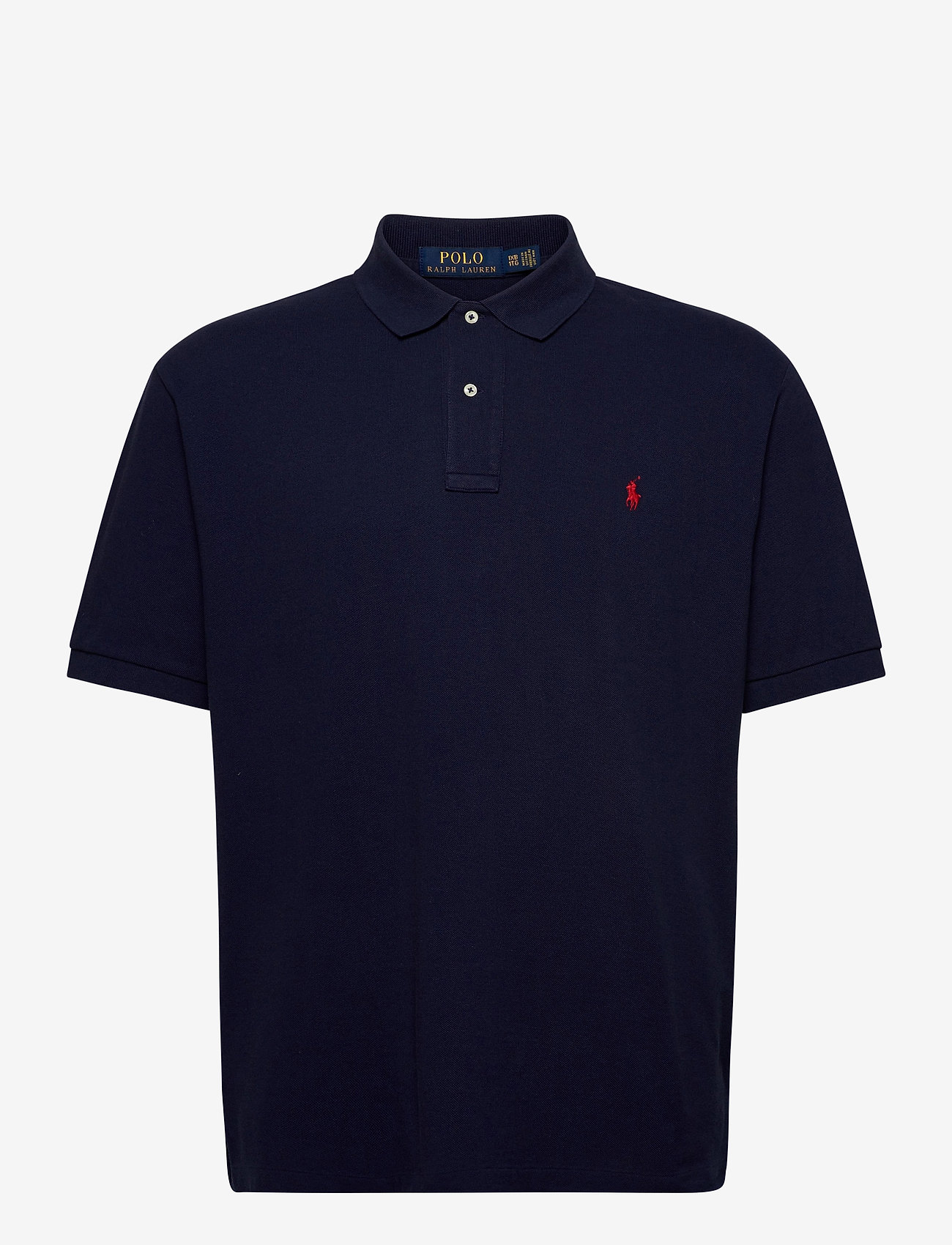 Polo Ralph Lauren Big & Tall - Classic Fit Mesh Polo Shirt - kortærmede - newport navy/c387 - 0