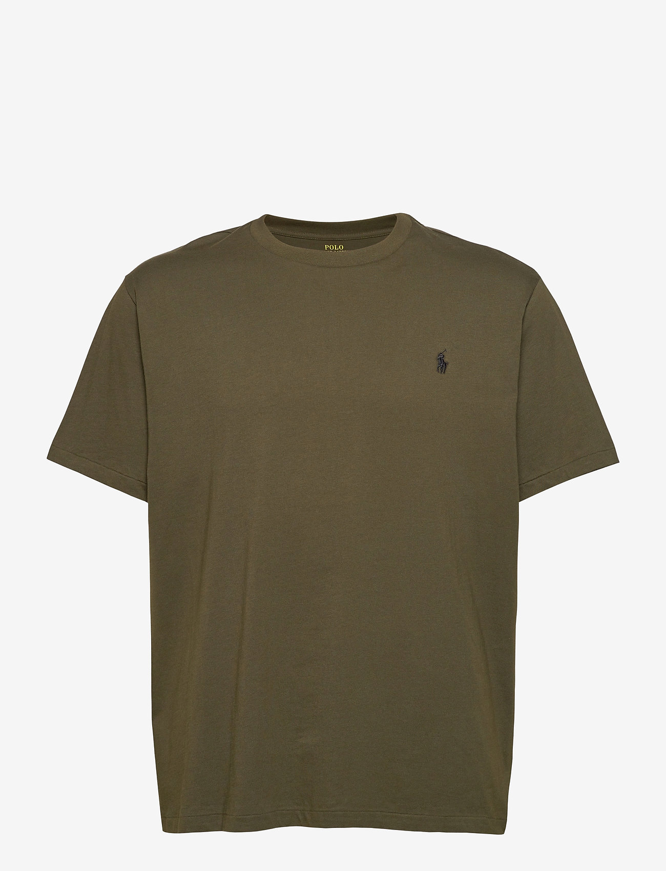 Polo Ralph Lauren Big & Tall - Classic Fit Crewneck Tee - basic t-shirts - company olive/c97 - 1