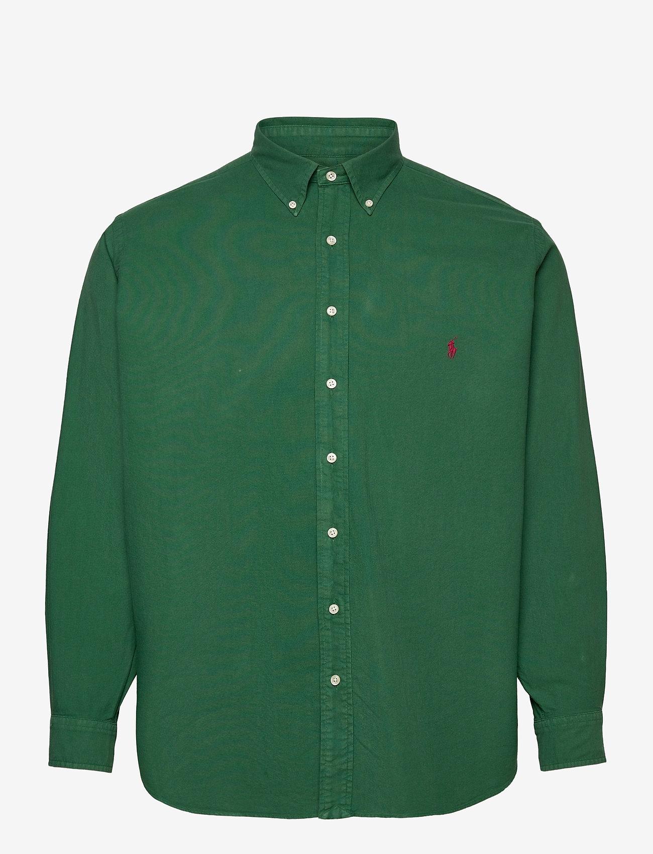 Polo Ralph Lauren Big & Tall - Garment-Dyed Oxford Shirt - basic skjorter - new forest - 0