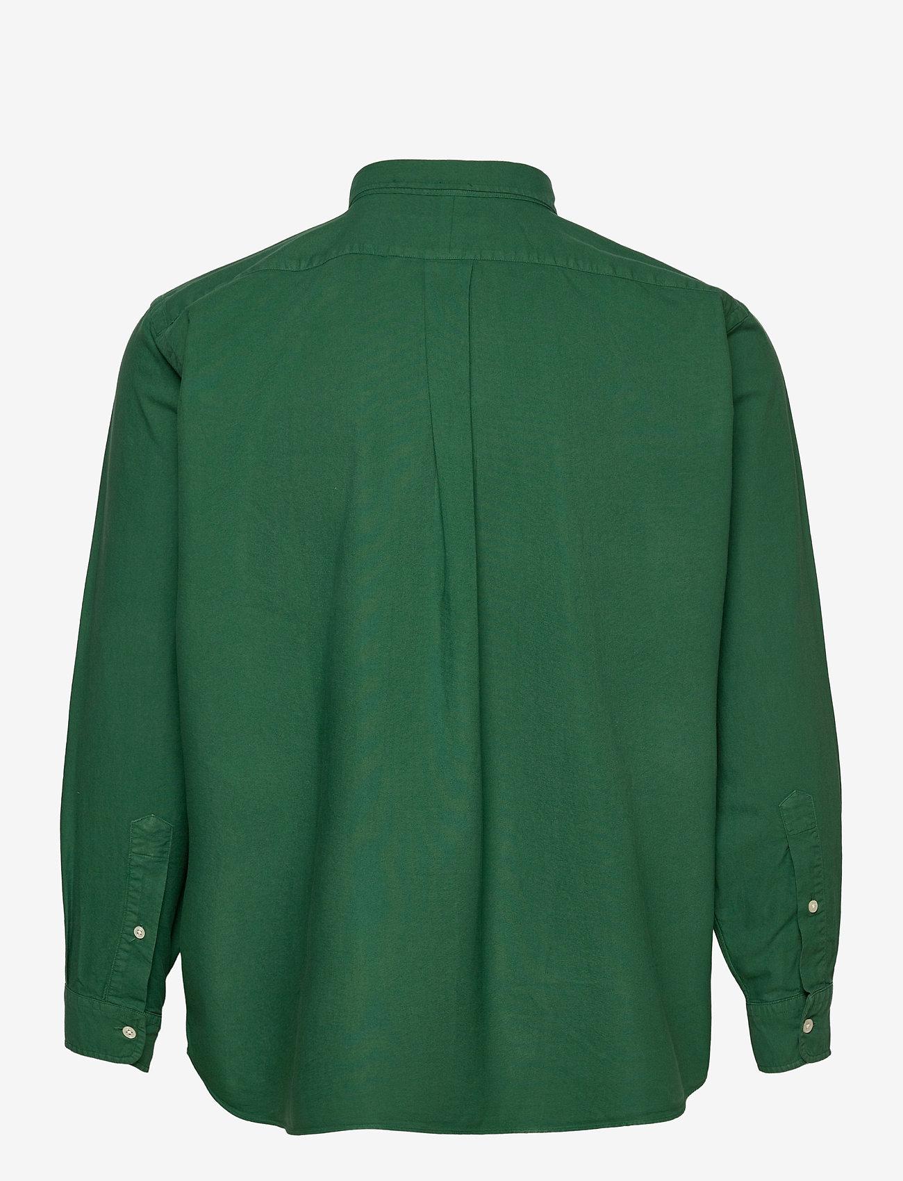 Polo Ralph Lauren Big & Tall - Garment-Dyed Oxford Shirt - basic skjorter - new forest - 1