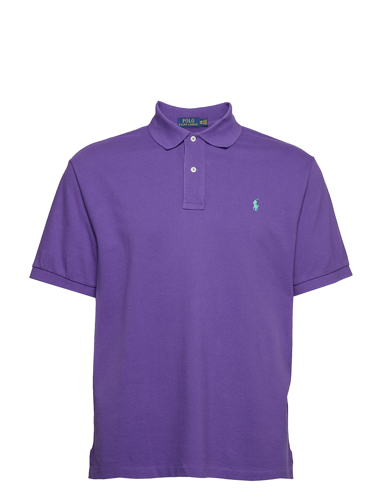8d6c5484201 Classic Fit Mesh Polo Shirt (Cabana Purple) (£90) - Polo Ralph ...