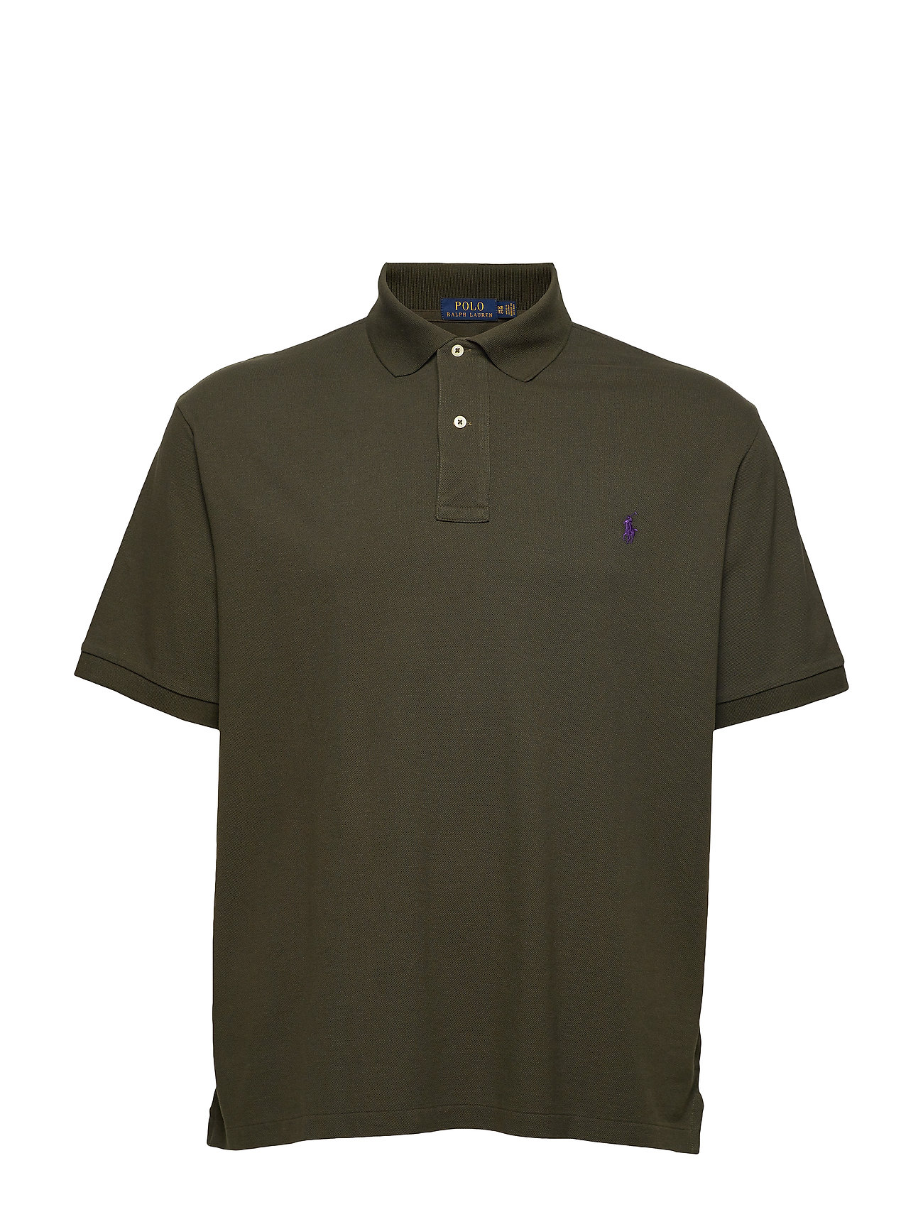 Polo Ralph Lauren Big & Tall Classic Fit Mesh Polo Shirt - ESTATE OLIVE/C498