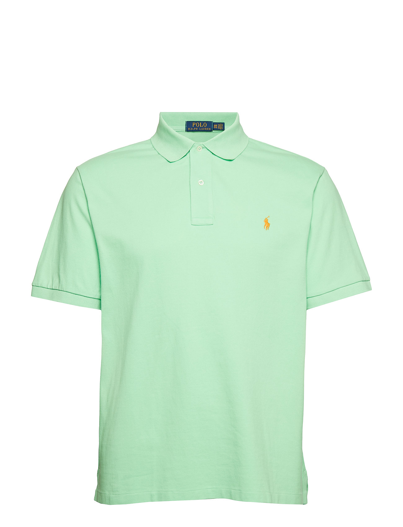 Polo Ralph Lauren Big & Tall Classic Fit Mesh Polo Shirt - NEW LIME