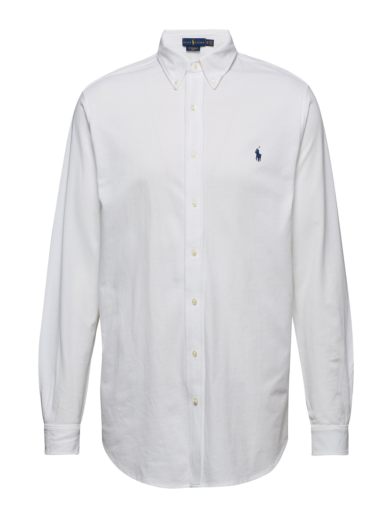 Polo Ralph Lauren Big & Tall Classic Fit Featherweight Mesh Shirt - WHITE