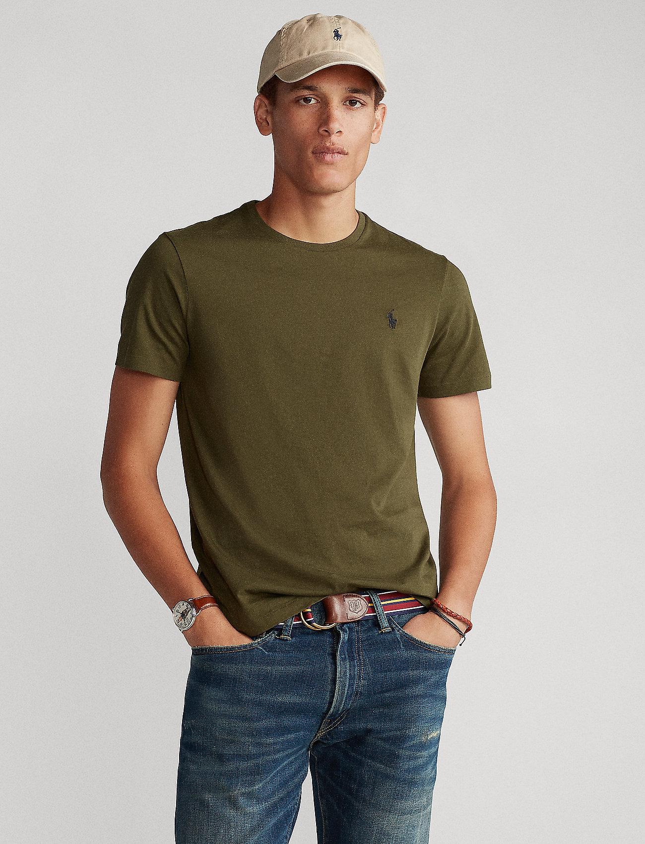 Polo Ralph Lauren Big & Tall - Classic Fit Crewneck Tee - basic t-shirts - company olive/c97 - 0