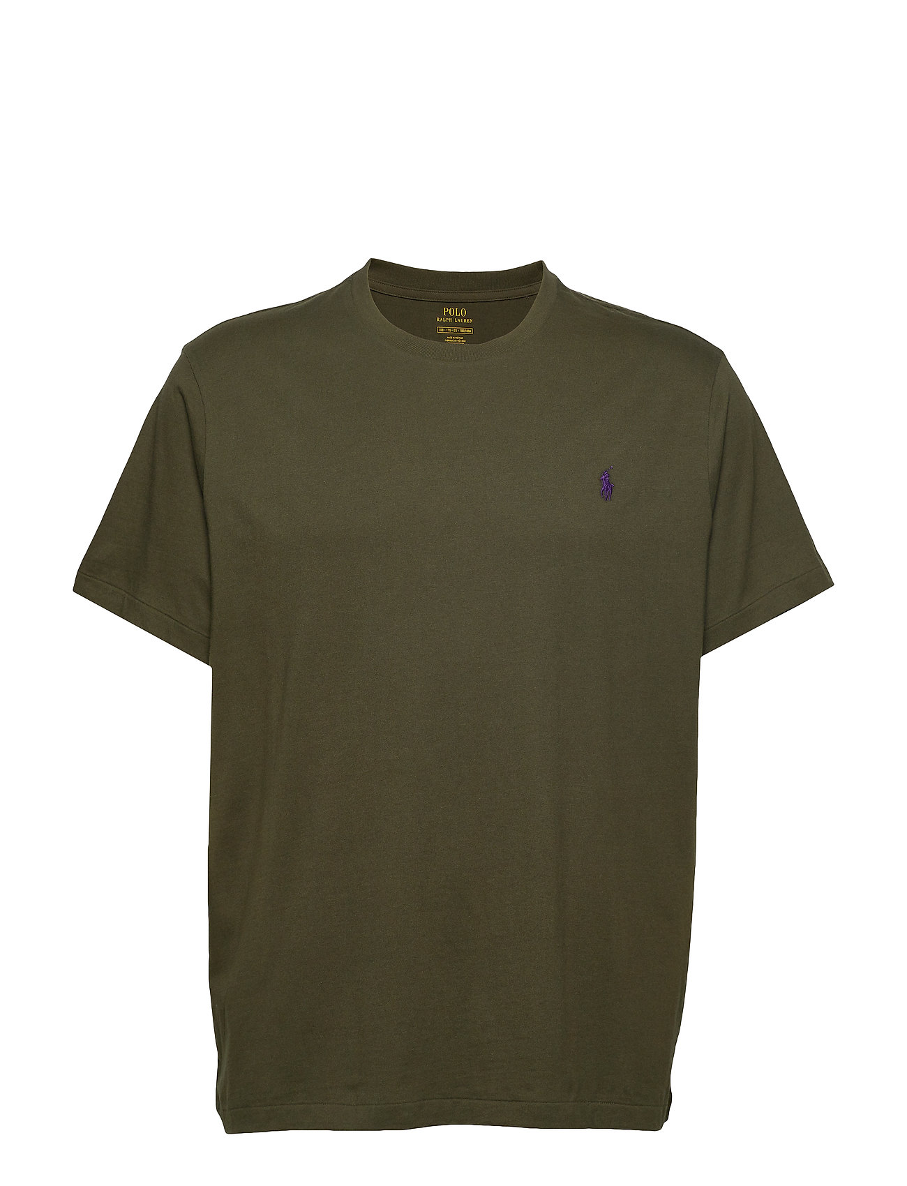 Polo Ralph Lauren Big & Tall Classic Fit Crewneck Tee - ESTATE OLIVE/C498