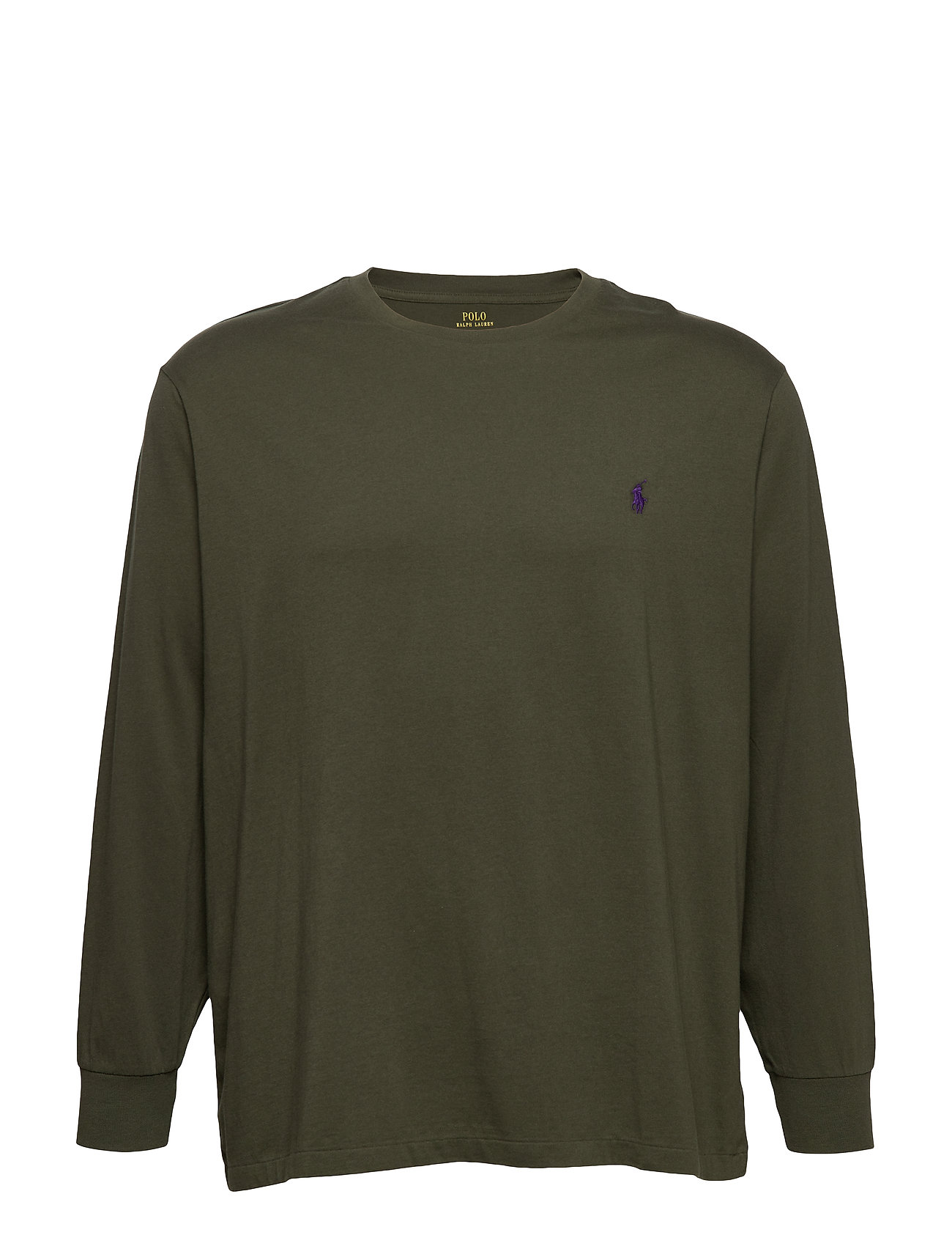 Polo Ralph Lauren Big & Tall Classic Fit Crewneck T-Shirt - ESTATE OLIVE/C498