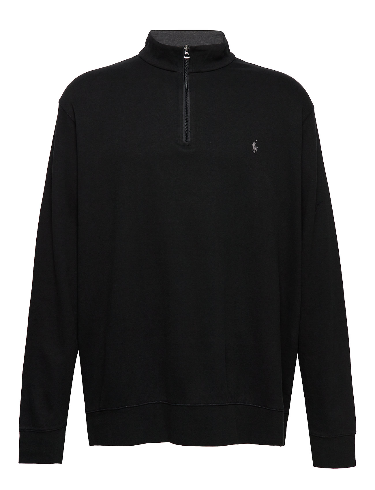 Polo Ralph Lauren Big & Tall Luxury Jersey Pullover - POLO BLACK