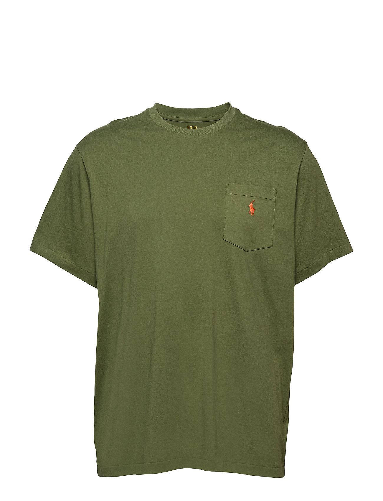 Polo Ralph Lauren Big & Tall Classic Fit Pocket T Shirt Ögrönlar