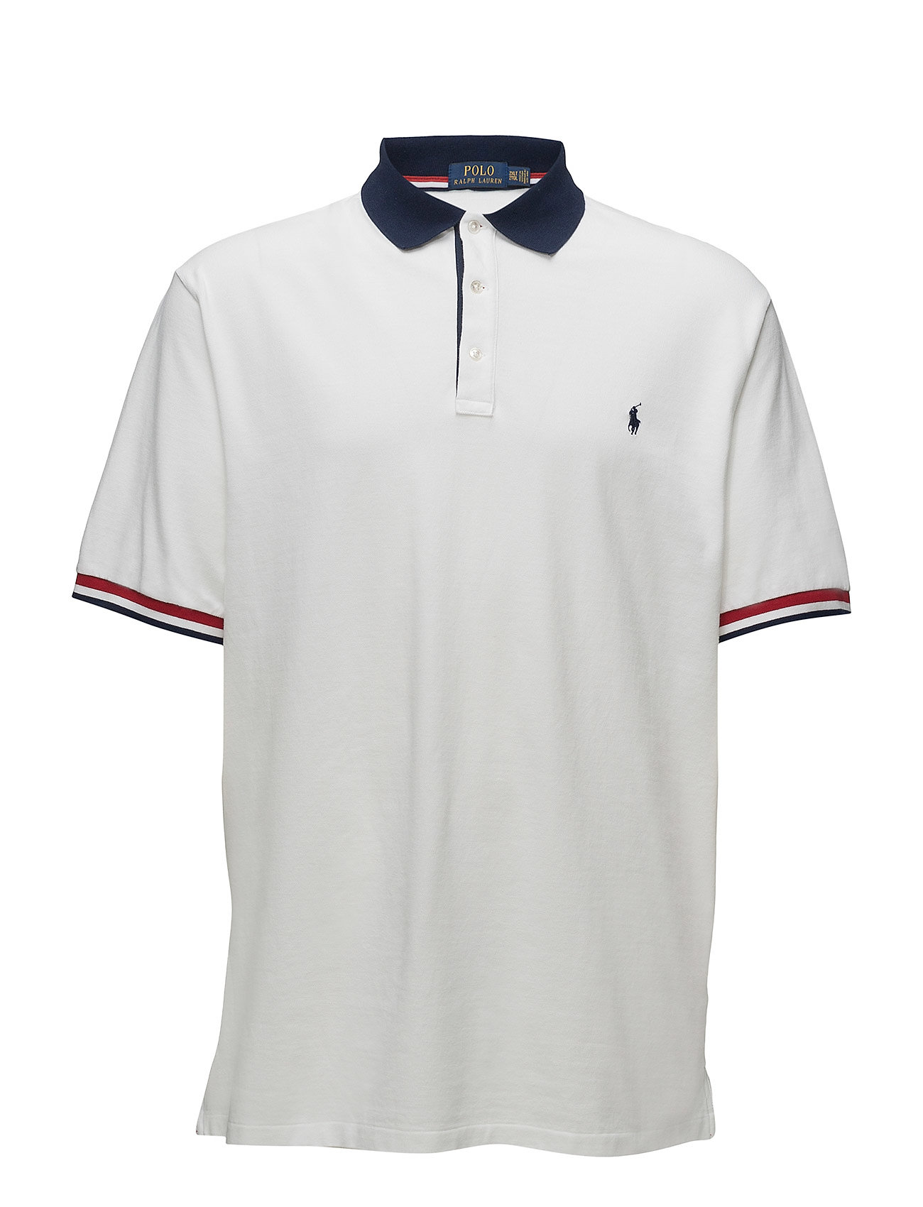 Classic Fit Mesh Polo Shirt (White) (£68.25) - Polo Ralph Lauren Big ... fd156f49eb0b