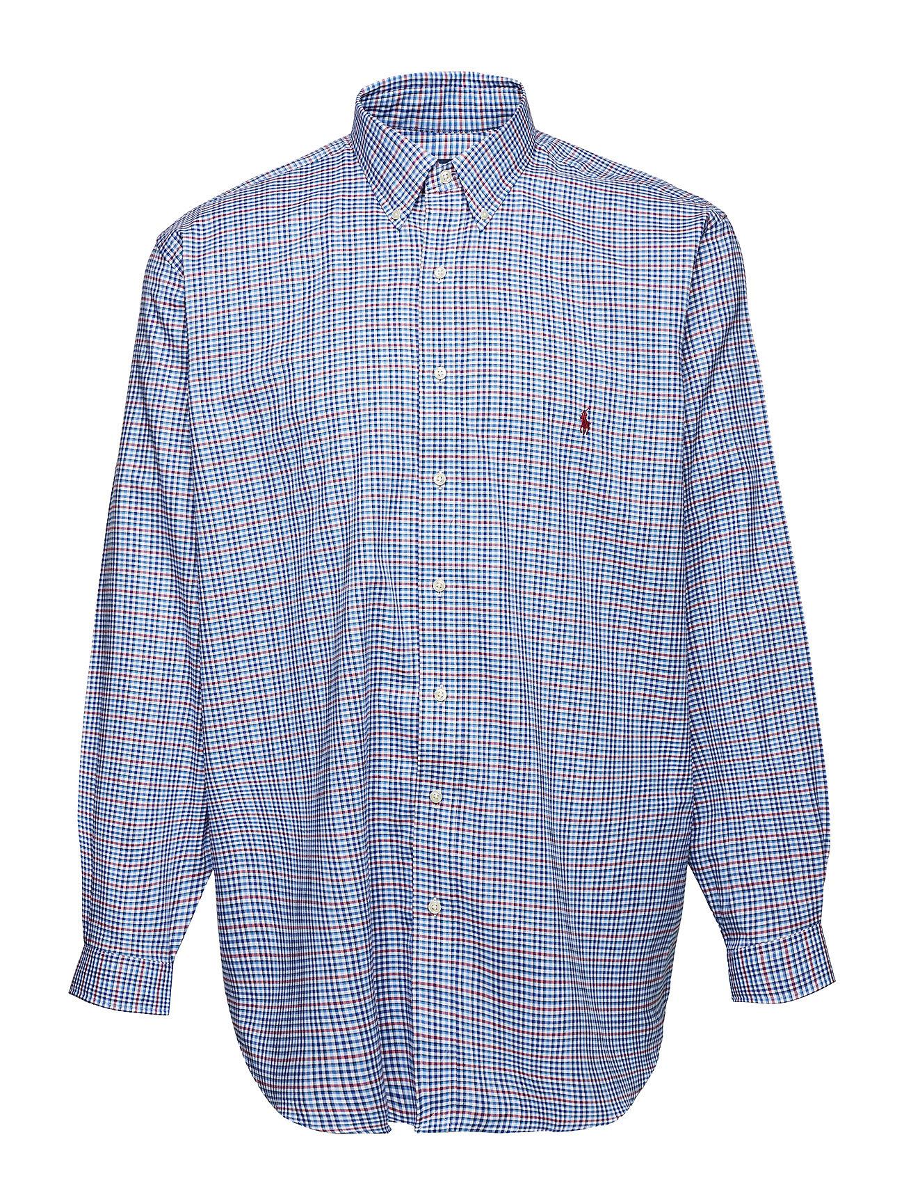 6ffe970595ed Classic Fit Plaid Twill Shirt (2915 Cadet Blue/w) (£59.95) - Polo ...