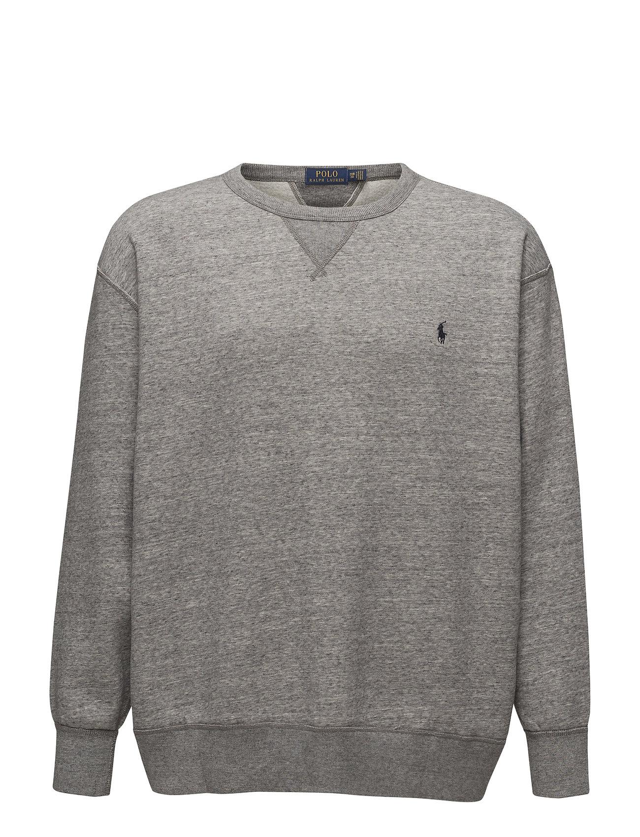 4233ae2bbaf Cotton-blend-fleece Sweatshirt (Dark Vintage Heat) (£74.25) - Polo ...