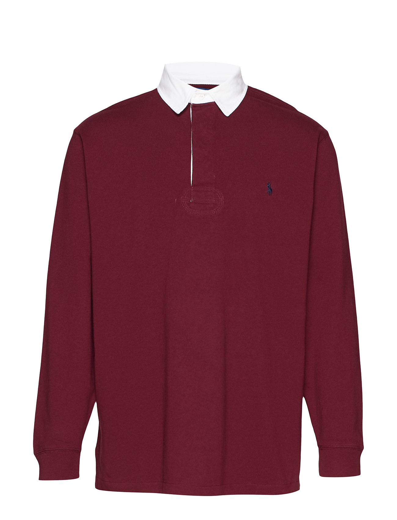 Polo Ralph Lauren Big & Tall The Iconic Rugby Shirt - CLASSIC WINE/C791