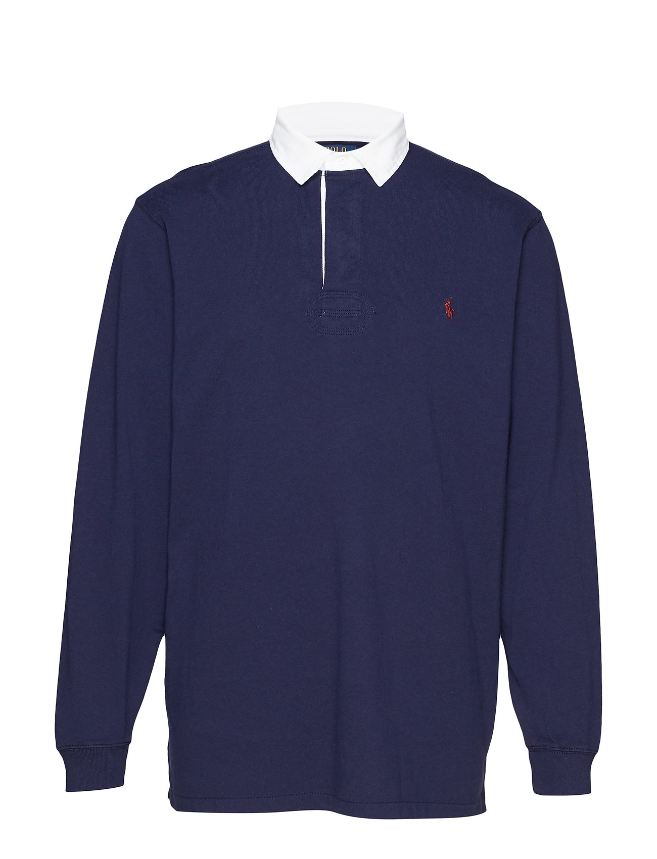 Polo Ralph Lauren Big & Tall The Iconic Rugby Shirt - FRENCH NAVY/C3924