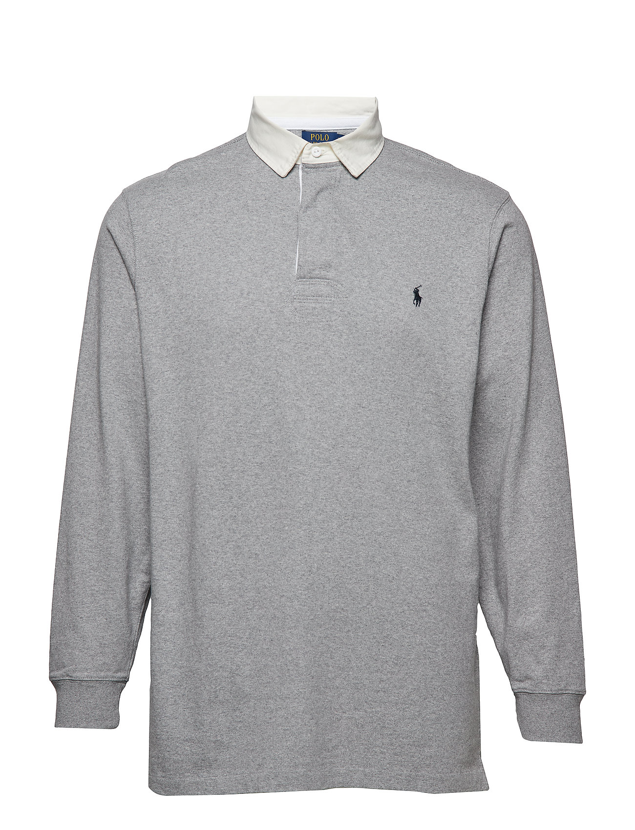 Polo Ralph Lauren Big & Tall The Iconic Rugby Shirt - LEAGUE HEATHER