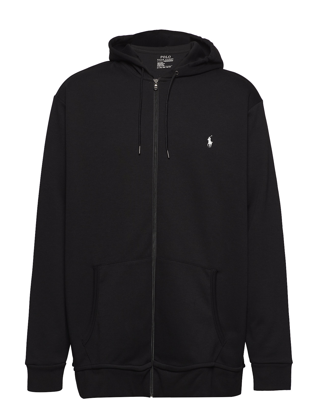 471f428471a5 Double-knit Full-zip Hoodie (Polo Black) (£74.25) - Polo Ralph ...