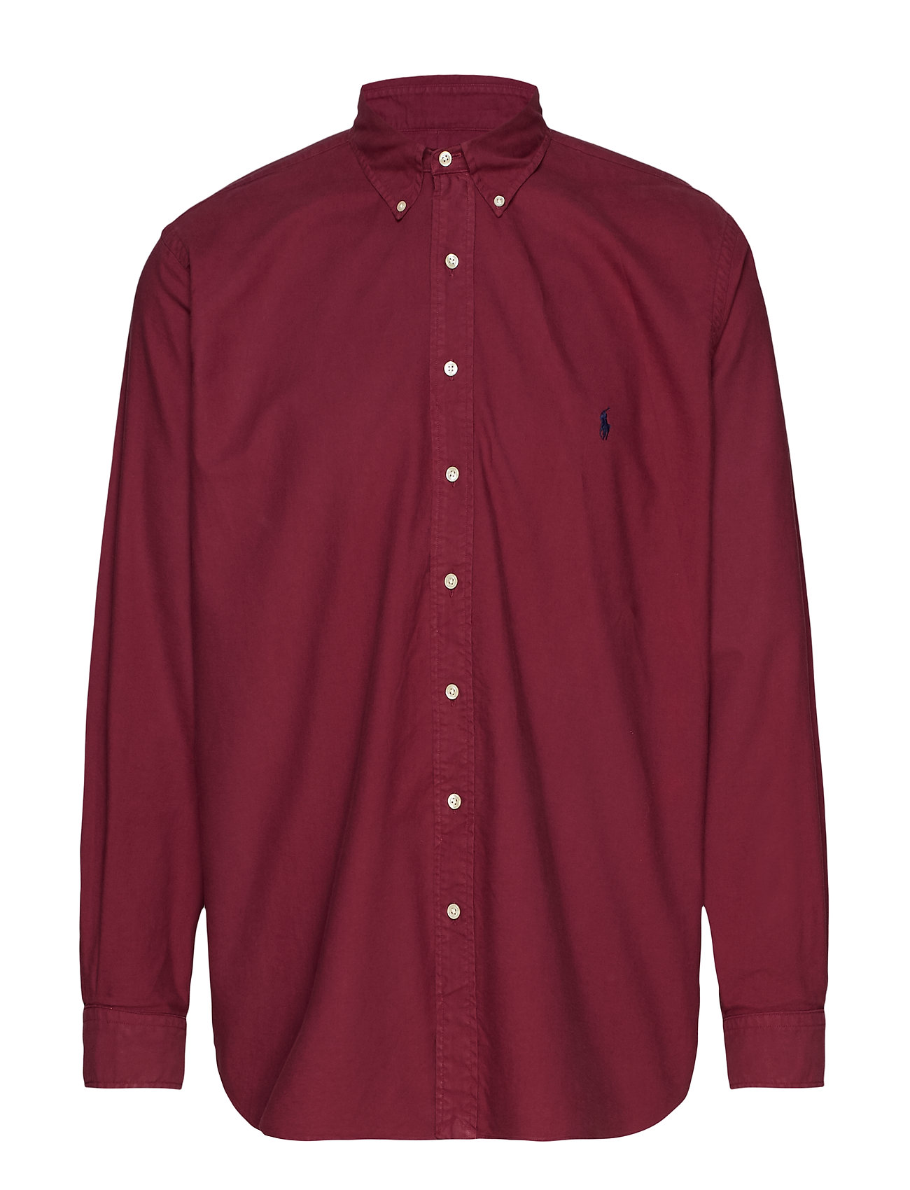 Polo Ralph Lauren Big & Tall Classic Fit Oxford Shirt - AUBERGINE