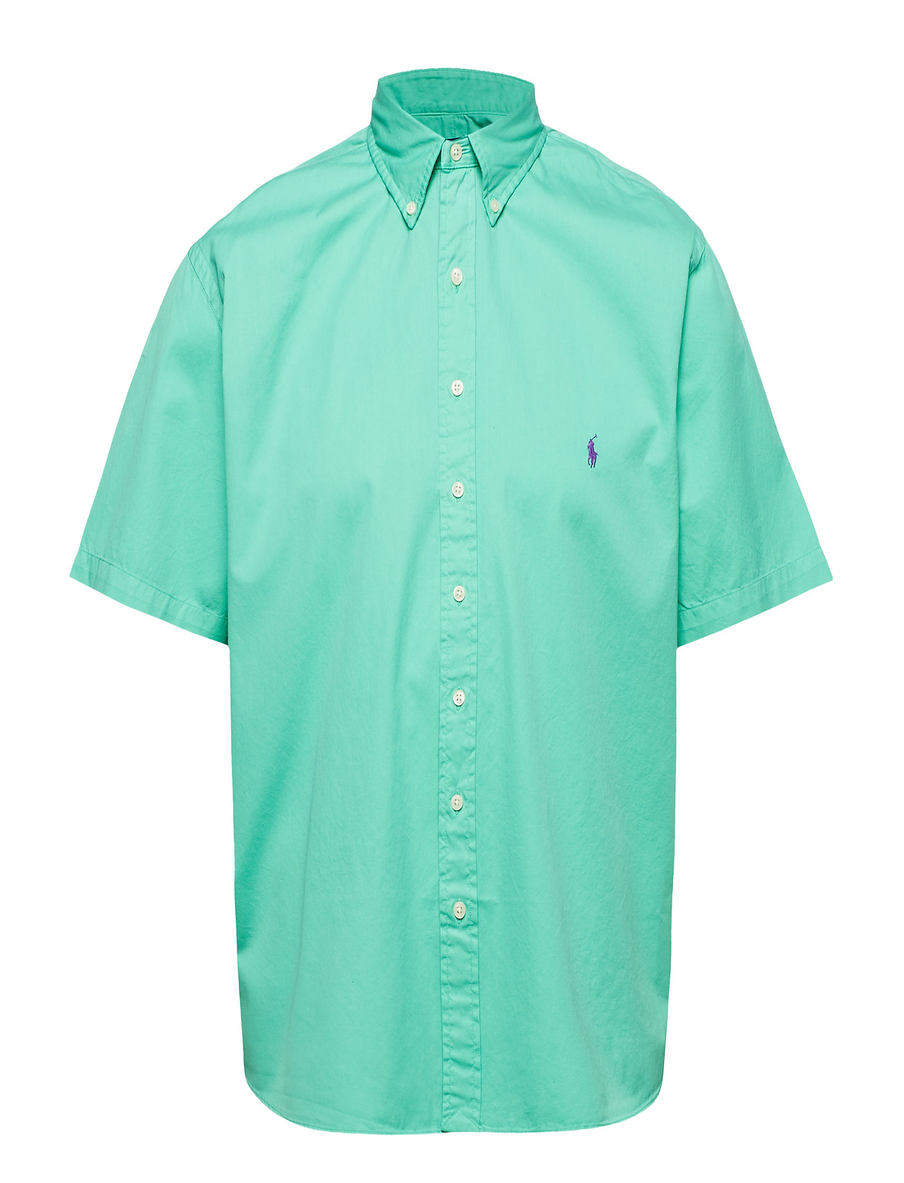 Polo Ralph Lauren Big & Tall Classic Fit Twill Shirt - SUNSET GREEN