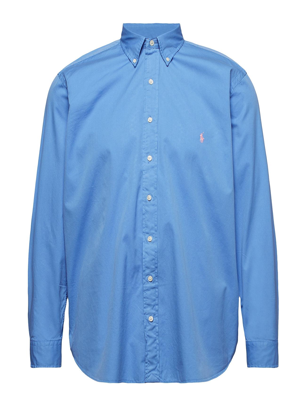 Polo Ralph Lauren Big & Tall Classic Fit Twill Shirt - HARBOR ISLAND BLU