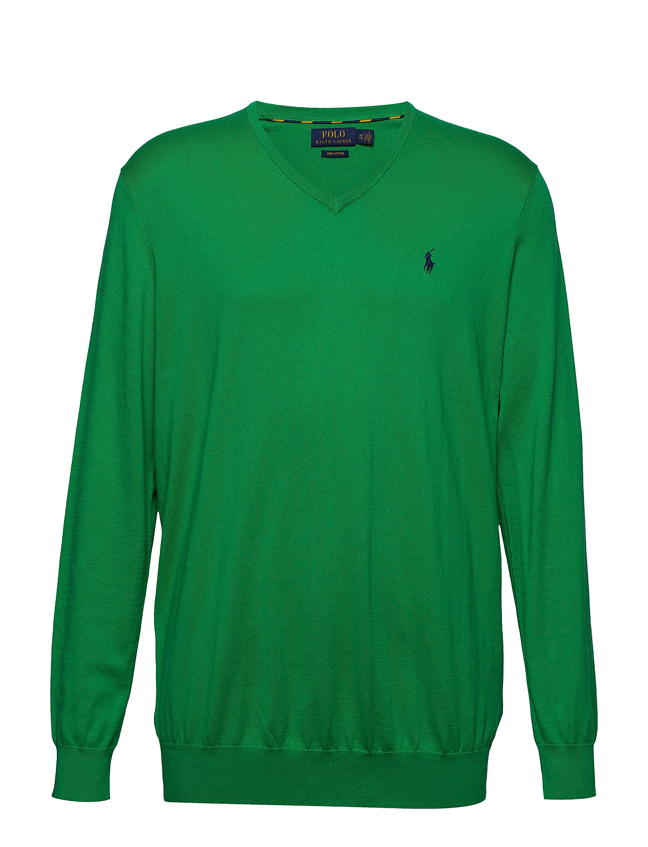 Polo Ralph Lauren Big & Tall Cotton V-Neck Sweater