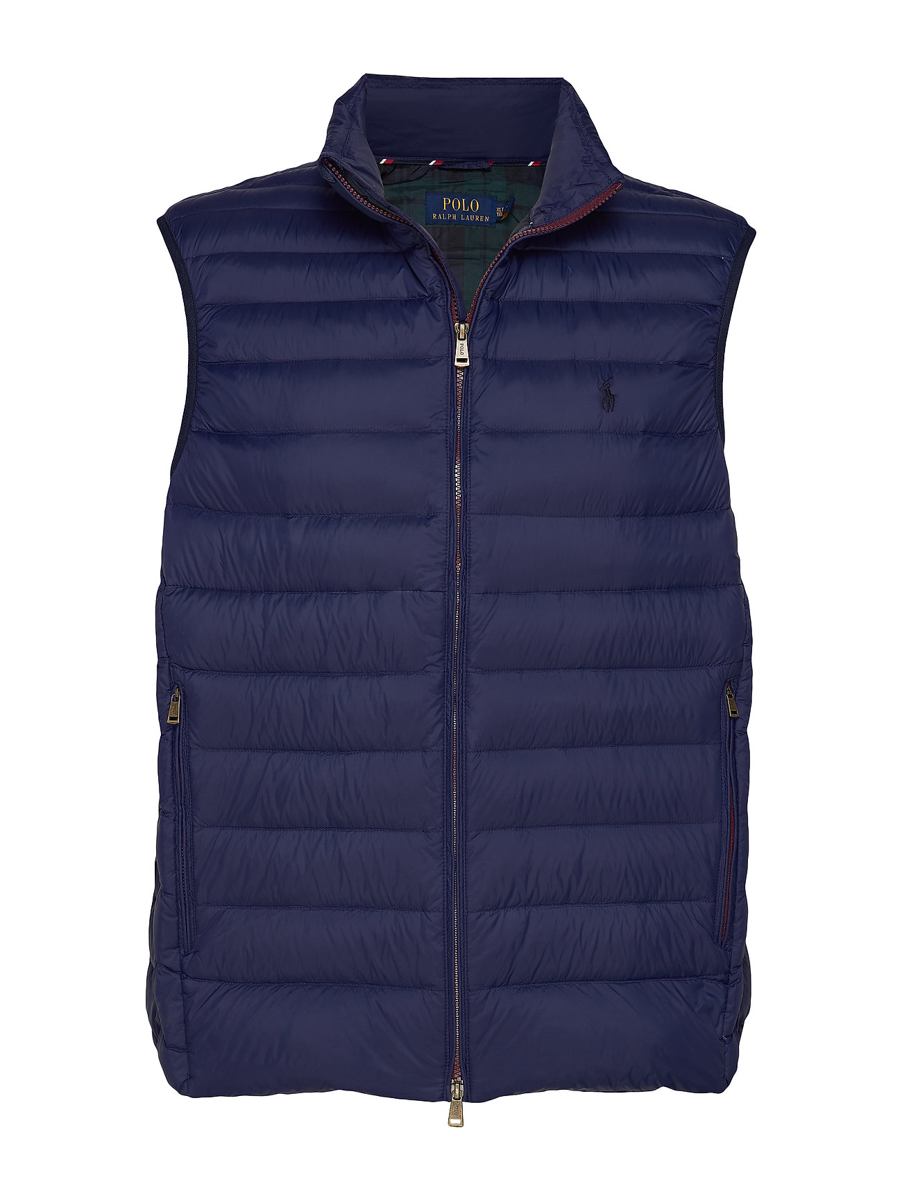 Polo Ralph Lauren Big & Tall Packable Down Vest - CRUISE NAVY