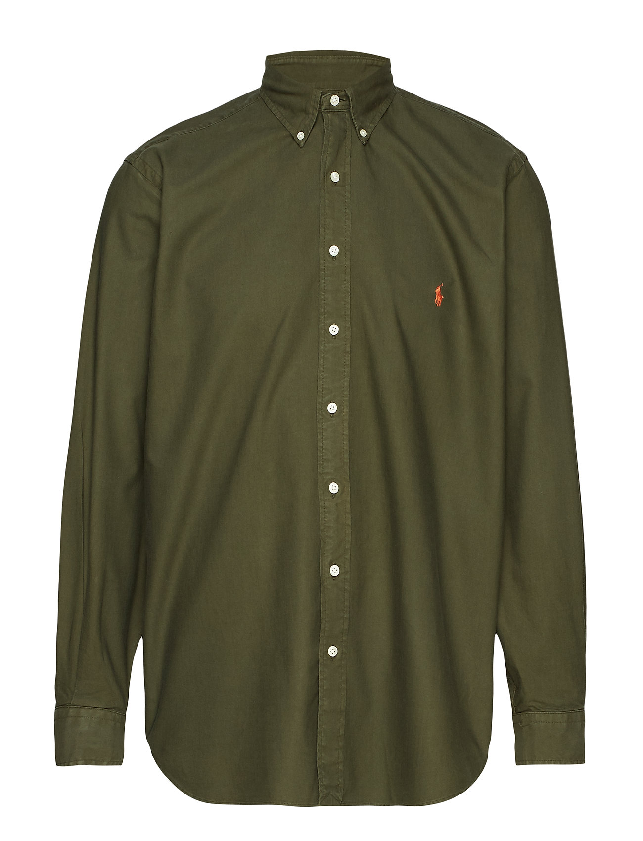 Polo Ralph Lauren Big & Tall Classic Fit Oxford Shirt - COMPANY OLIVE
