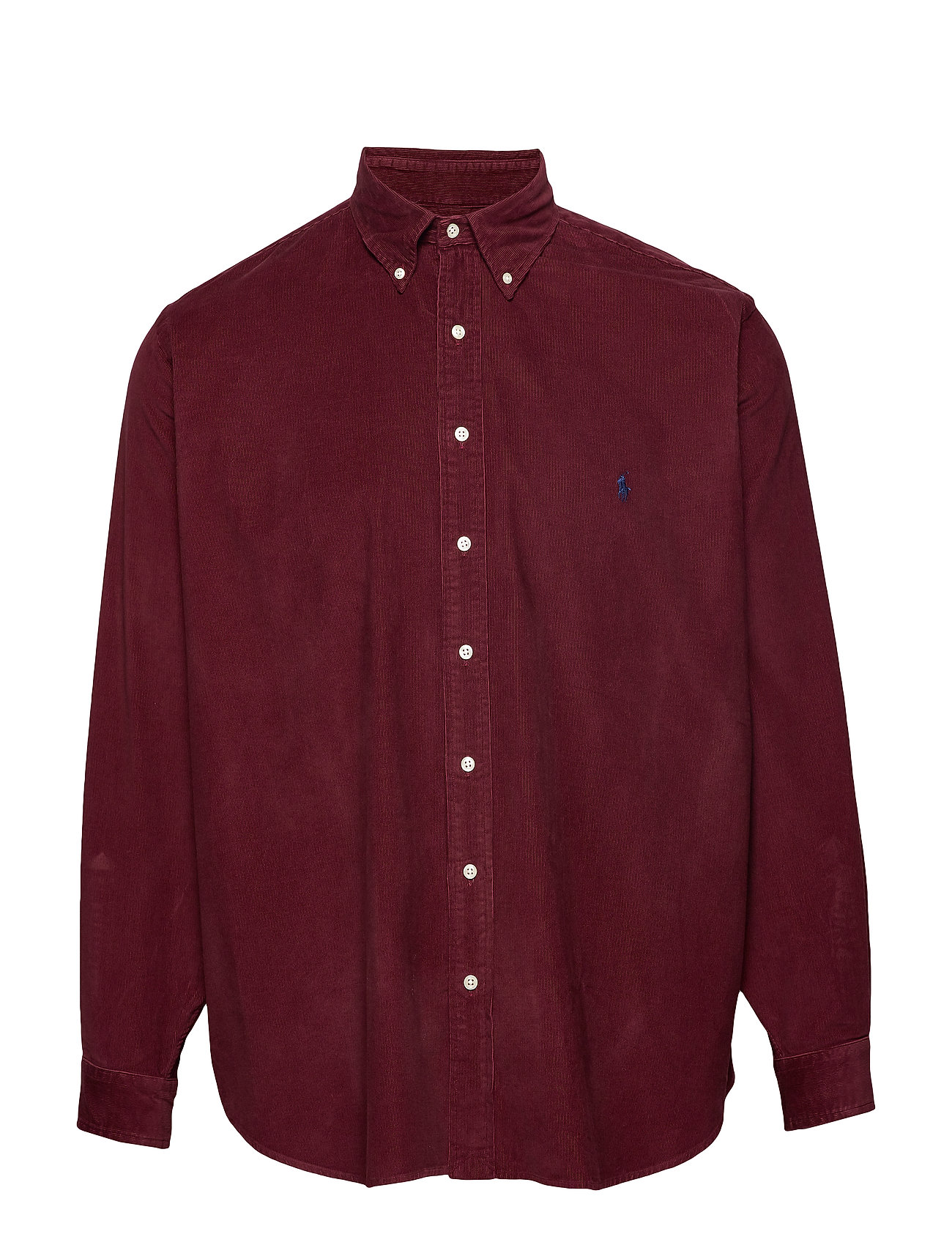Polo Ralph Lauren Big & Tall Classic Fit Corduroy Shirt - CLASSIC WINE