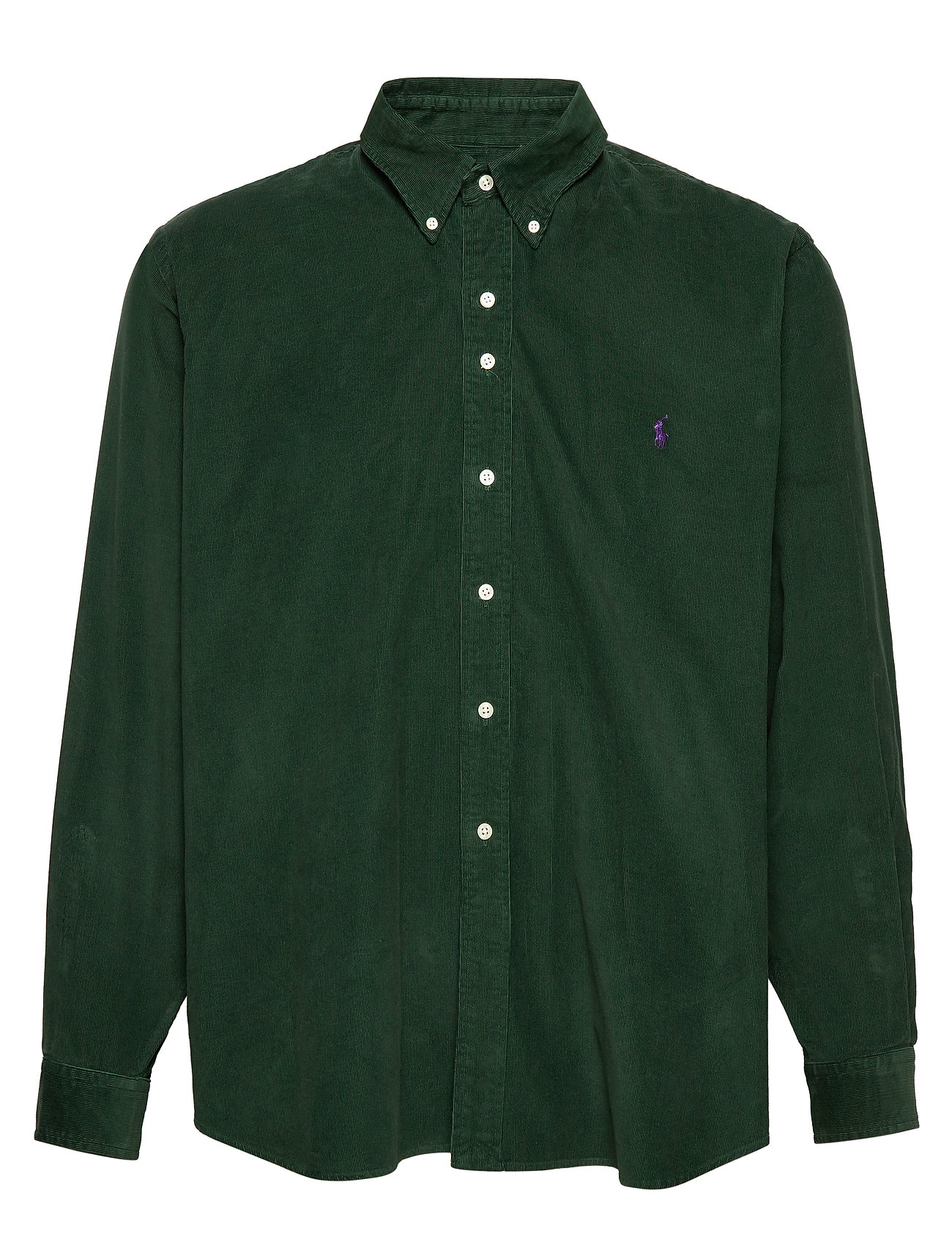 Polo Ralph Lauren Big & Tall Classic Fit Corduroy Shirt - COLLEGE GREEN