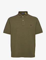 Polo Ralph Lauren Big & Tall - Classic Fit Mesh Polo Shirt - kortærmede - company olive/c97 - 1