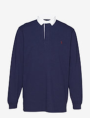 Polo Ralph Lauren Big & Tall - The Iconic Rugby Shirt - langærmede - french navy/c3924 - 0