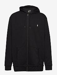Polo Ralph Lauren Big & Tall - Double-Knit Full-Zip Hoodie - hættetrøjer - polo black - 1