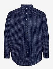 Polo Ralph Lauren Big & Tall - Classic Fit Dot Poplin Shirt - business skjorter - 4511 executive do - 0