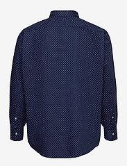 Polo Ralph Lauren Big & Tall - Classic Fit Dot Poplin Shirt - business skjorter - 4511 executive do - 1