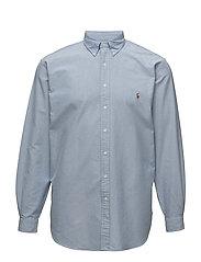 Classic Fit Cotton Sport Shirt - BLUE