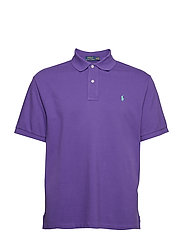 Classic Fit Mesh Polo Shirt - CABANA PURPLE