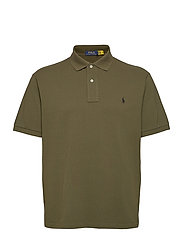 Classic Fit Mesh Polo Shirt - COMPANY OLIVE/C97