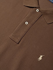 Polo Ralph Lauren Big & Tall - Classic Fit Mesh Polo Shirt - cooper brown/c831 - 3