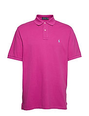 Classic Fit Mesh Polo Shirt - ROYAL MAGENTA