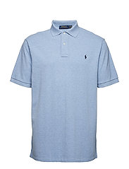 Classic Fit Mesh Polo Shirt - JAMAICA HEATHER