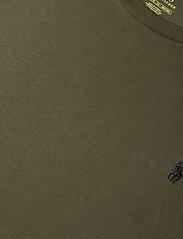 Polo Ralph Lauren Big & Tall - Classic Fit Crewneck Tee - basic t-shirts - company olive/c97 - 3